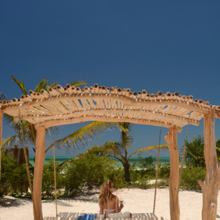 Beach at White Sand Luxury Villas