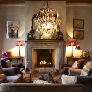 Interior at Hawksmoor, luxury hotel in South Africa