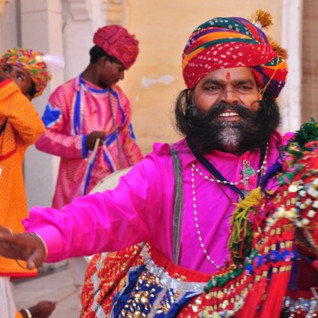 Expert-Led Journey: Rajasthan International Folk Festival (RIFF) with Amelia Stewart