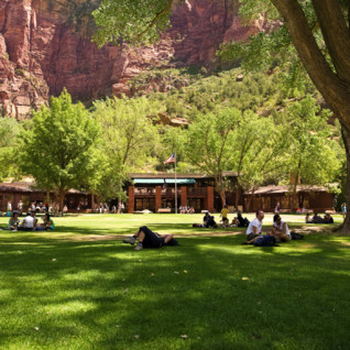 Zion Lodge, luxury hotel in the Great American Wilderness