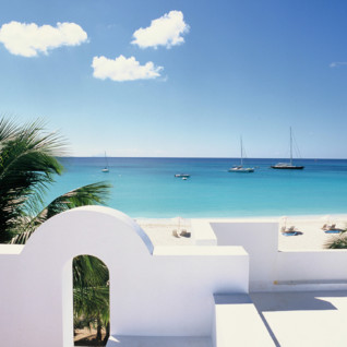 View at Cap Juluca, luxury hotel in Anguilla