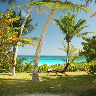Picture of the beach view at Pink Sands Resort