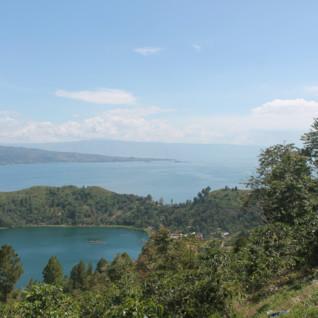View of Lake Toba, Sumatra