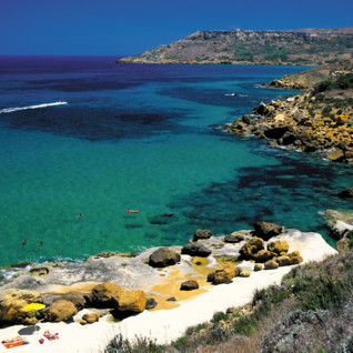 Picture of nice beach in Gozo