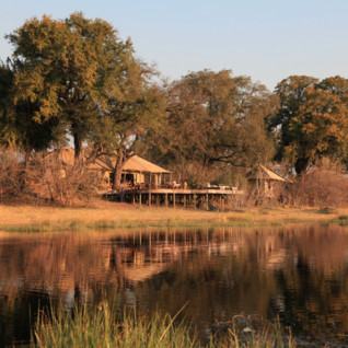 Zafara camp, luxury camp in Botswana