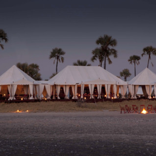 San Camp, luxury camp in Botswana, Africa