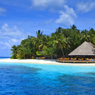 Picture of Angsana Ihuru bar and beach