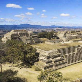 Mayan Ruins of Monte Alban