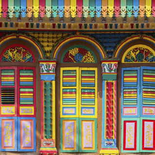 Another colourful doorway