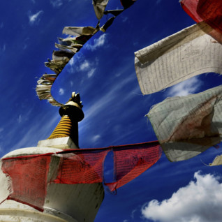 Prayer Flags in Bhutan