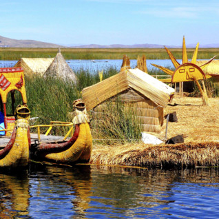 Tour of the islands on Lake Titicaca