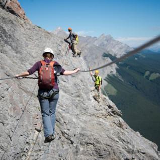 Via Ferrata in Banff