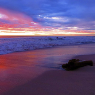 Sunset colours in Guanacaste