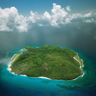 Aerial View of Fregate Island