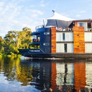 Aria Amazon on the Amazon River
