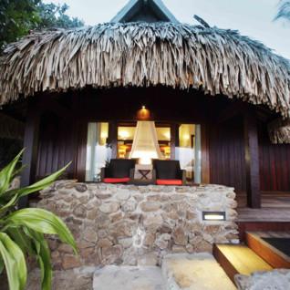 Luxury two bedroom villa exterior