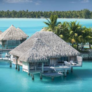 Premier over water oceanfront villa