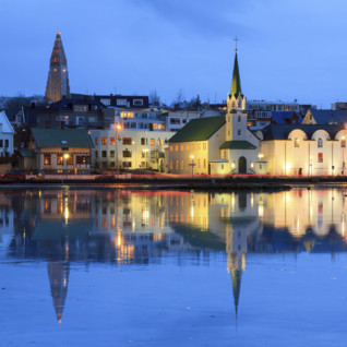 Reflection of Reykjavik