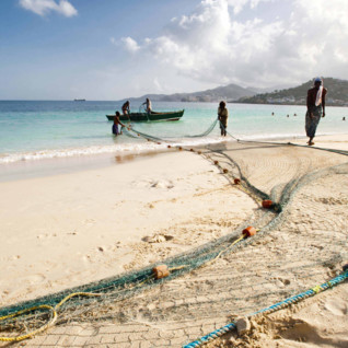 Fishermen in Grenada