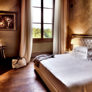 Bedroom at Il Salviatino