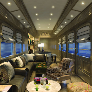 Dining Cart on the Belmond Andean Explorer
