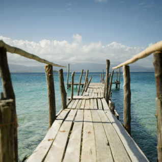 San Blas Islands Boardwalk