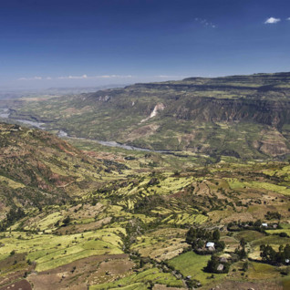 An Aerial View of Ethiopia's Rift Valley