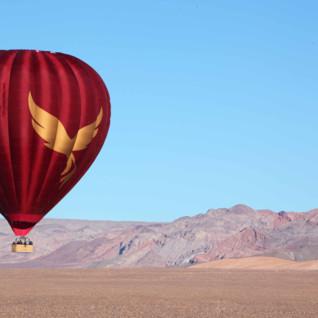 Hot Air Ballooning over the Atacama Desert