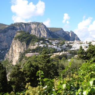 Hillside in Capri
