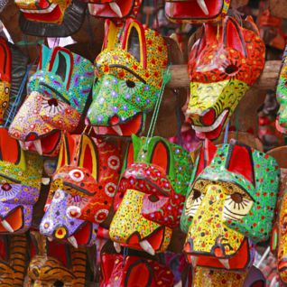 Chichincastenango Masks