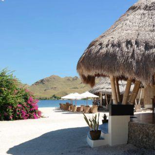 Restaurant at Komodo Dive Resort, Indonesia