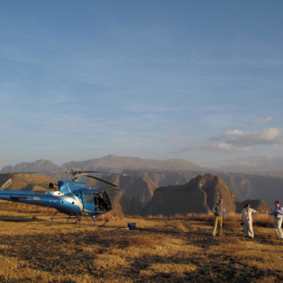 Helicopter Safaris in the Northern Frontier District