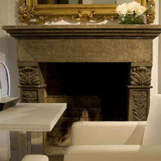 Interior at Gigli D'Oro, luxury hotel in Italy