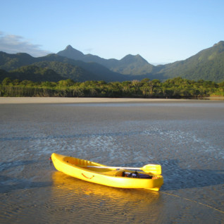 Kayaking from Paraty