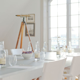 Meeting room at Hotel J, luxury hotel in Stockholm, Sweden