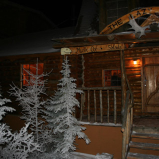 Exterior at Lazy Bear Lodge, luxury hotel in Churchill, Canada
