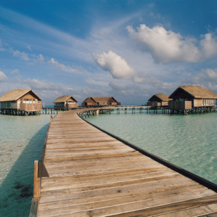 Villas at Cocoa Island, luxury hotel in the Maldives