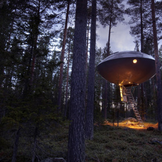 Treehotel, luxury hotel in Sweden