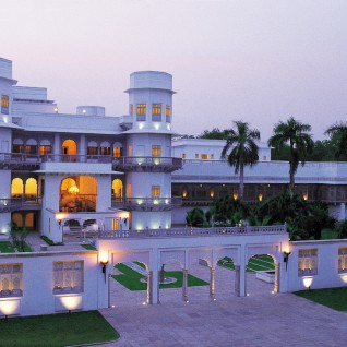 Usha Kiran Palace, luxury hotel in India