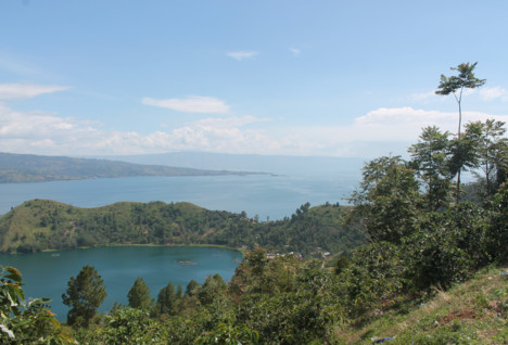 View of Lake Toba, Sumatra