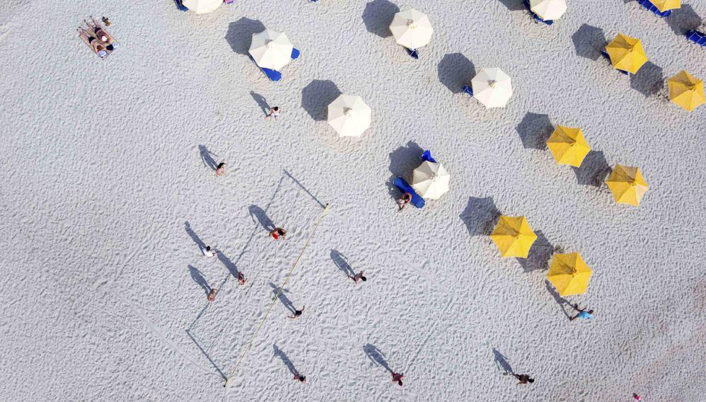 Beach Umbrellas, Halkidiki