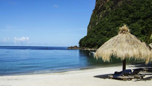 Beach in St Lucia