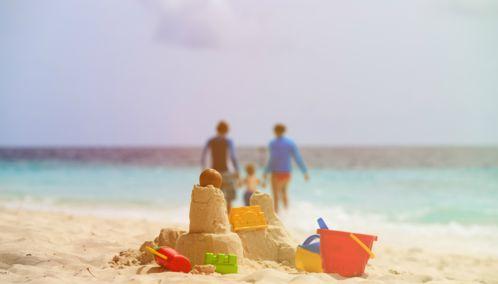 Family Beach Holiday, Spain