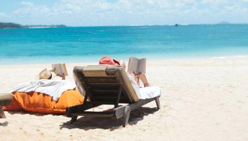 Honeymooners in Mauritius
