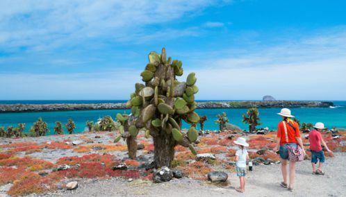 Children, Galapagos Island