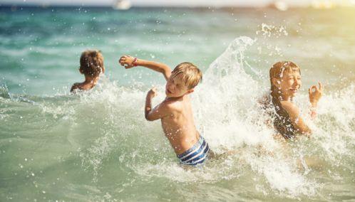 Children in the Sea, The Algarve