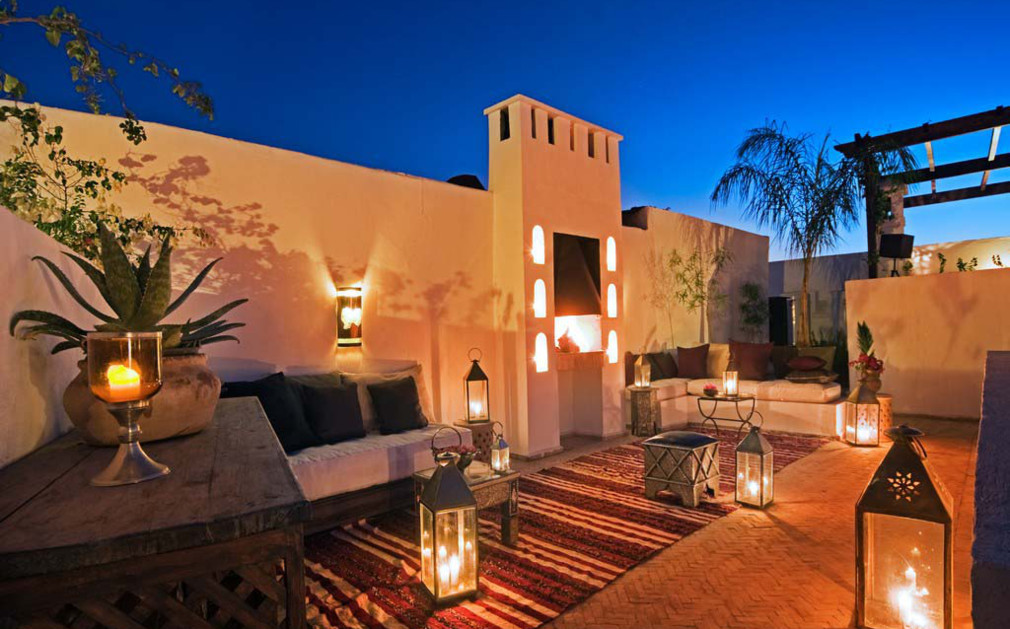 Riad capaldi marrakech luxury riads boutique hotels for Luxury riad in marrakech