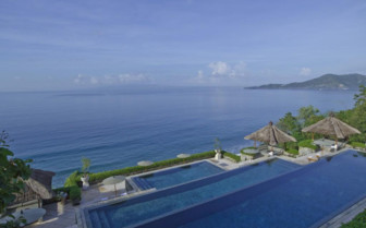 Picture of Three Tier Pool at Amankila