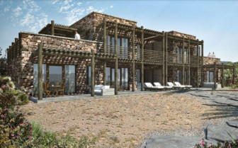 Exterior at Alila Jabal Akhdar, luxury hotel in Oman