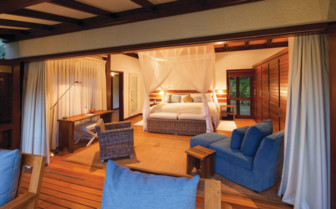 Picture of beach residence bedroom, Desroches Island Resort